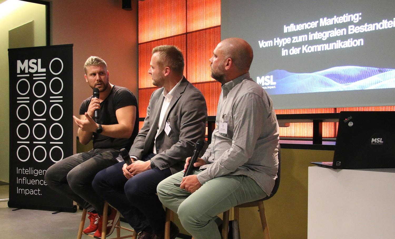 MSL Panel-Talk mit Stefan Vögeding (P&G) und Influencer Florian Liebig