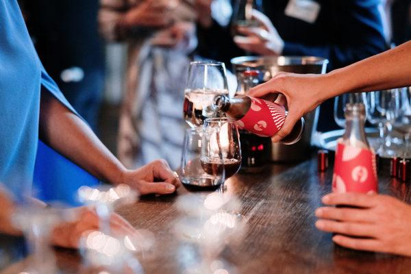 Politischer Bar-Abend mit Coca Cola und MSL am 24.09.19 in Berlin im Soho House. / Foto: Tobias Koch (www.tobiaskoch.net)